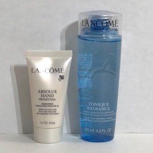 Lancôme 2pc sample size skin care bundle